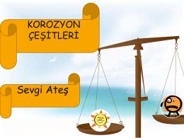 korozyon