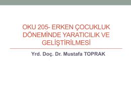 Dr. Toprak Sunum