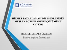 Prof.Dr. Cemal Yükselen