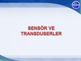 sensör nedir