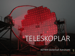 Optik Teleskoplar