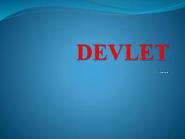 DEVLET