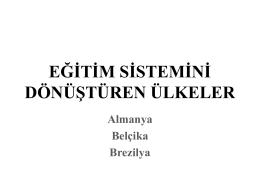 türk eğitim sistemi sunum