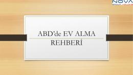 Türkçe Amerikada Ev Alma Rehberini İndirmek