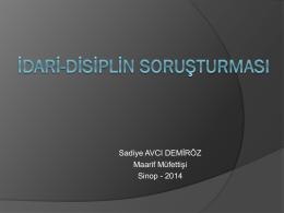 Disiplin cezası