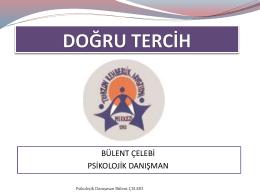 Doğru Tercih - Trabzon Rehberlik ve Araştırma Merkezi