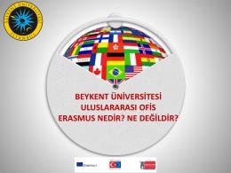 Erasmus Programı Ne Değildir?