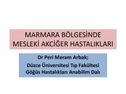 Mesleki astım - Türk Toraks Derneği