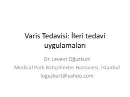 Varis Tedavisi 2 (İleri) Levent Oğuzkurt 8,16 MB PPTX