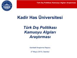 Khas_TDP_Arastirma - Kadir Has Üniversitesi