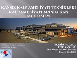 Antalya 2015 - Perfüzyonistler Derneği