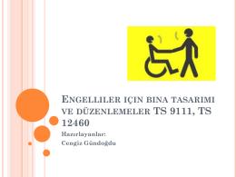 Engelliler için bina tasarımı