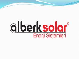 Slayt 1 - Alberk Solar Enerji Sistemleri