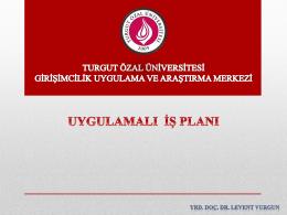 İndir - Turgut Özal Üniversitesi