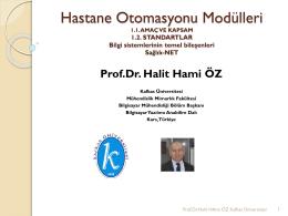 Prof.Dr. Halit Hami OZ-01-Hastane Otomasyonu