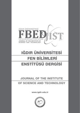 Eylül 2013 - Iğdır Üniversitesi
