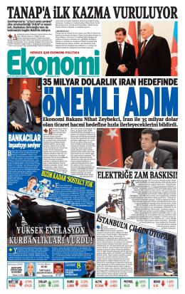 22 eylül 2014 - Ekonomi Gazetesi