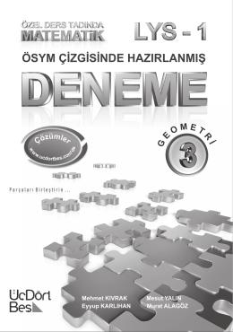 Mehmet Kıvrak deneme Geometri Convertli