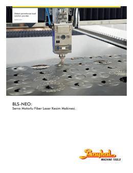 BLS-NEO TR. - Baykal Makine