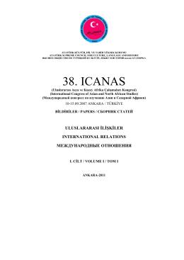 38. ICANAS