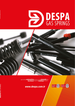 despa catalog - Despa Gas Spring
