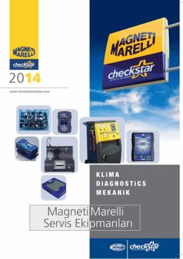 Magneti Marelli Checkstar cihaz kataloğunu görmek için lütfen