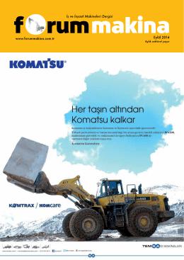 Eylül 2014 - Forum Makina