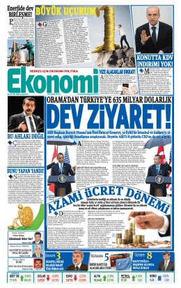 24 EYLÜL 2014 - Ekonomi Gazetesi