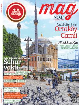 Ortaköy Camii Sahur vakti