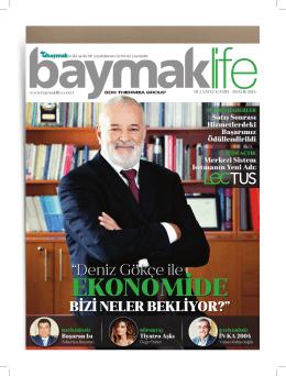 Baymaklife Kasım/Aralık 2014 dergisi için tıklayınız