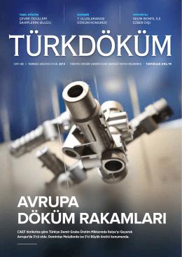Turkcast Issue #44 - Türkiye Döküm Sanayicileri Derneği