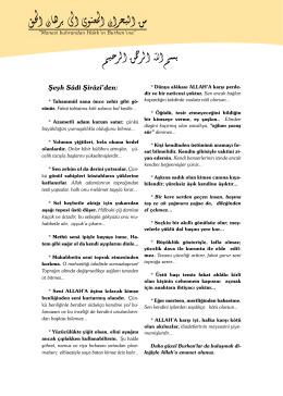 Mayıs - Burhan Dergisi