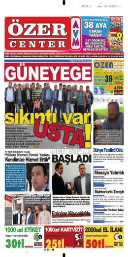 30 Nisan 2014 - Güney Ege Gazetesi