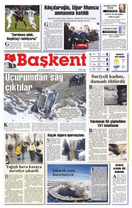 buradan - Başkent Gazetesi
