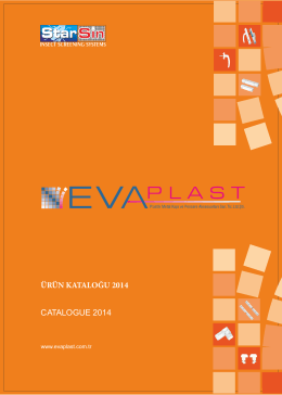 catalogue 2014 ürün katalo u 2014