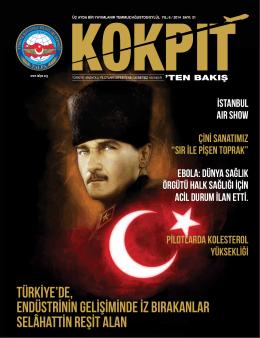 temmuz – eylül 2014 - Türkiye Havayolu Pilotları Derneği