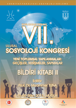 Link - VII. Ulusal Sosyoloji Kongresi
