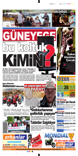 23 Nisan 2014 - Güney Ege Gazetesi