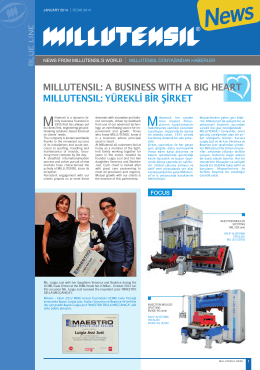 MILLUTENSIL: a BUSINESS wITh a BIG hEarT MILLUTENSIL