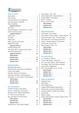 PDF Örneği için tıklayınız