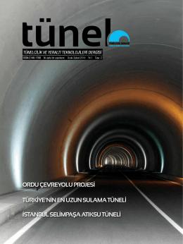 Tünel Dergisi 2 - Tünelcilik Derneği