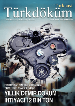 Turkcast Issue #43 - Türkiye Döküm Sanayicileri Derneği