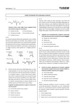 1. c v x Y Yukarıda verilen venöz dalga trasesi aşağıdaki
