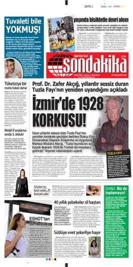 YOKMUŞ! - Sondakika Gazetesi