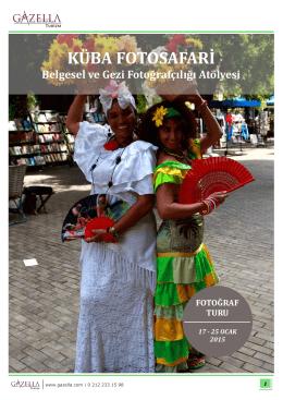 KÜBA FOTOSAFARİ - Gazella Turizm