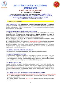 indir - Türkiye Vücut Geliştirme ve Fitness Federasyonu