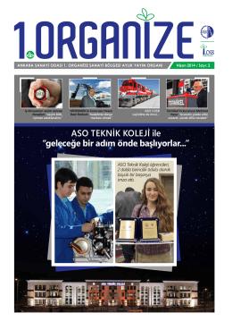 ASO TEKNİK KOLEJİ ile - AOSB Ankara Sanayi Odası 1.Organize