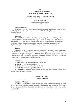 Nizamettin BAŞKAL - e-mail:nizamettinbaskal@yozgat-bld