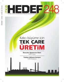 TEK ÇARE - İstanbul Tekstil ve Konfeksiyon İhracatçı Birlikleri