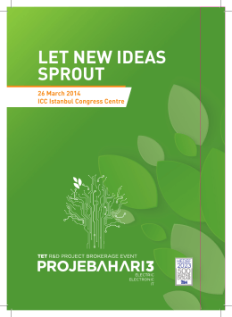 LET NEW IDEAS SPROUT